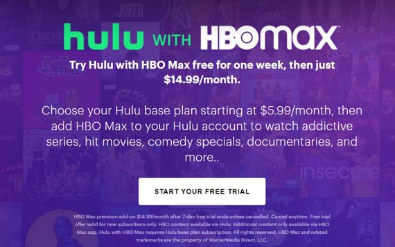 how to get free trial of hbo max